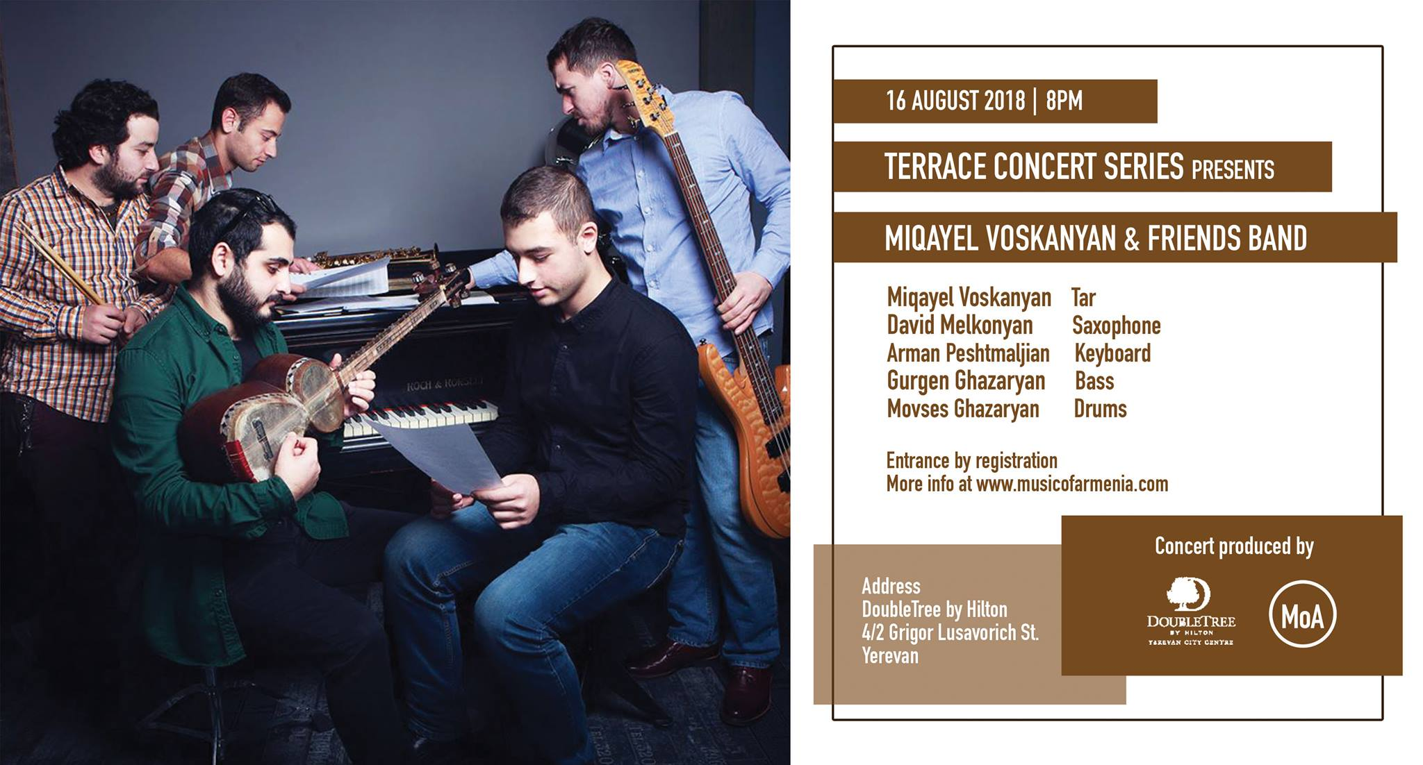 Miqayel Voskanyan & Friends Band