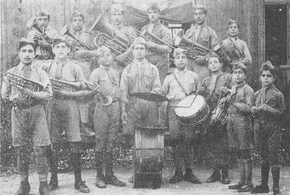 The scout musical band of Adana, 1920