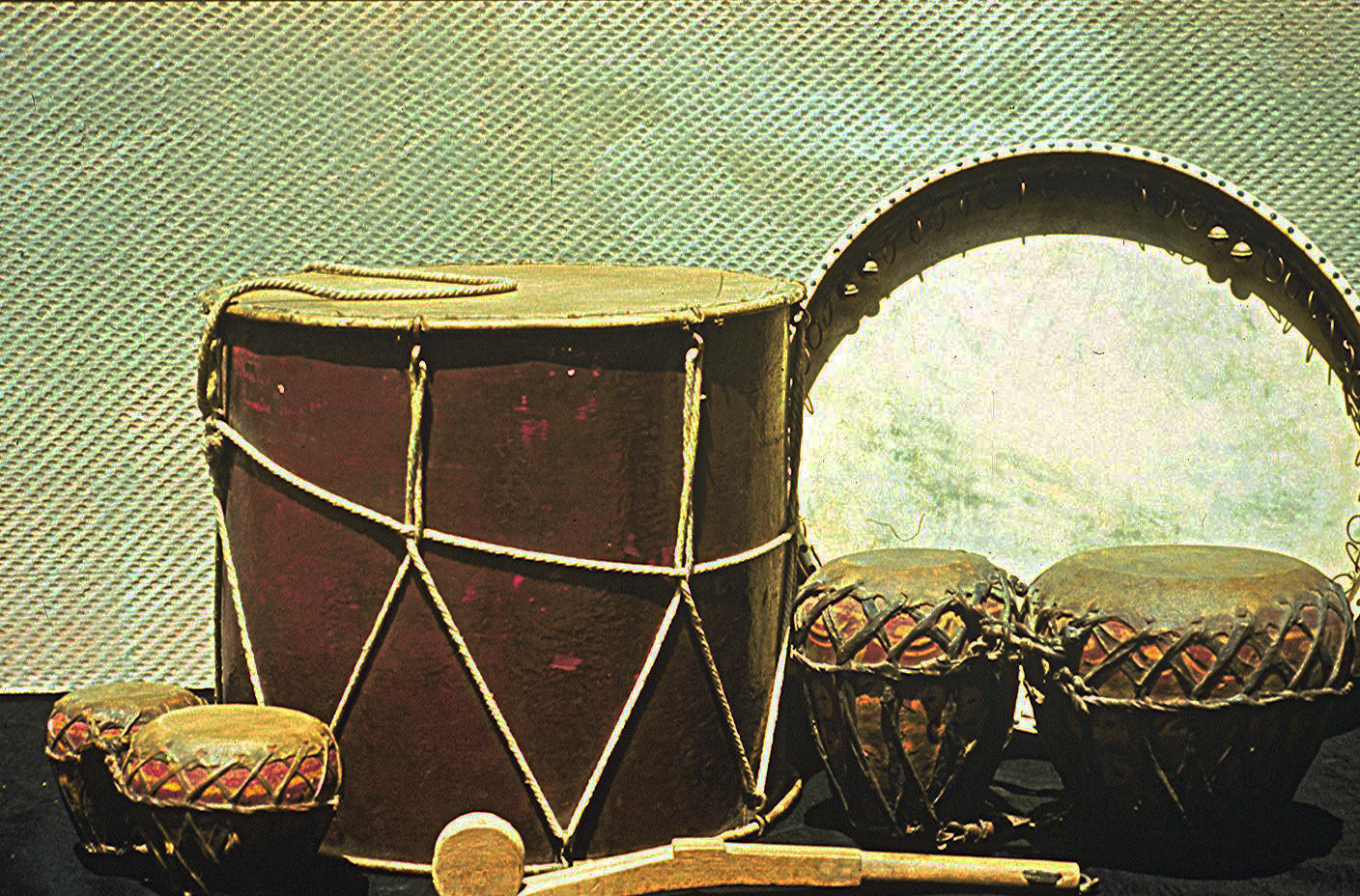 Percussion Instruments. Photo: Gulbenkian Foundation Archive