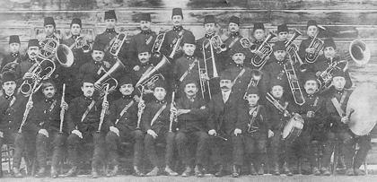 The National musical band of Adabazar, 1909