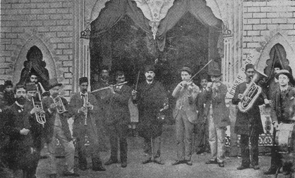 "The Armenian musical band ""Toni"" in Samatia, early 20th century"