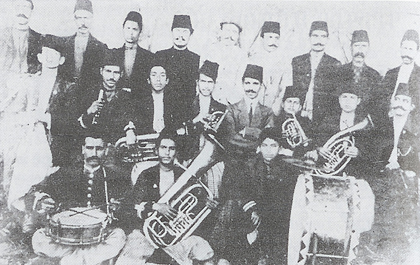 The Armenian musical band of Aintab, early 20th century