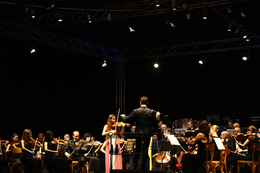 Armenian Philharmonic Orchestra and Anush Nikoghosyan at the Festival delle Nazioni in Italy | © Annalisa Savoca