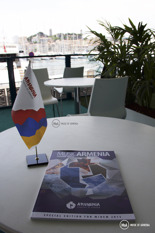 Armenia at Midem 2015  | © Music of Armenia