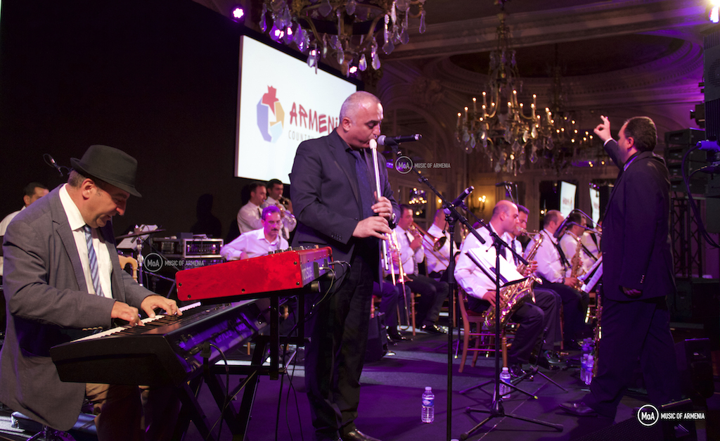 Vahagn Hayrapetyan, Norayr Kartashyan and the Armenian State Jazz Band | © Music of Armenia