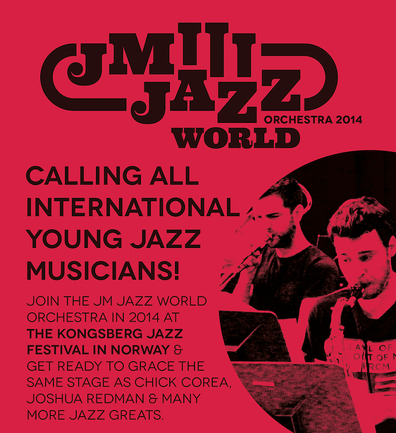 Applications for JM Jazz World Orchestra 2014 now open