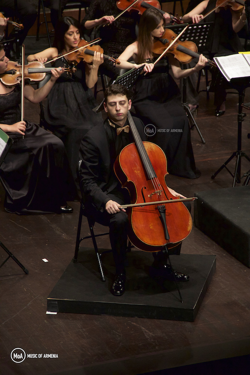Narek Hakhnazaryan | © Music of Armenia