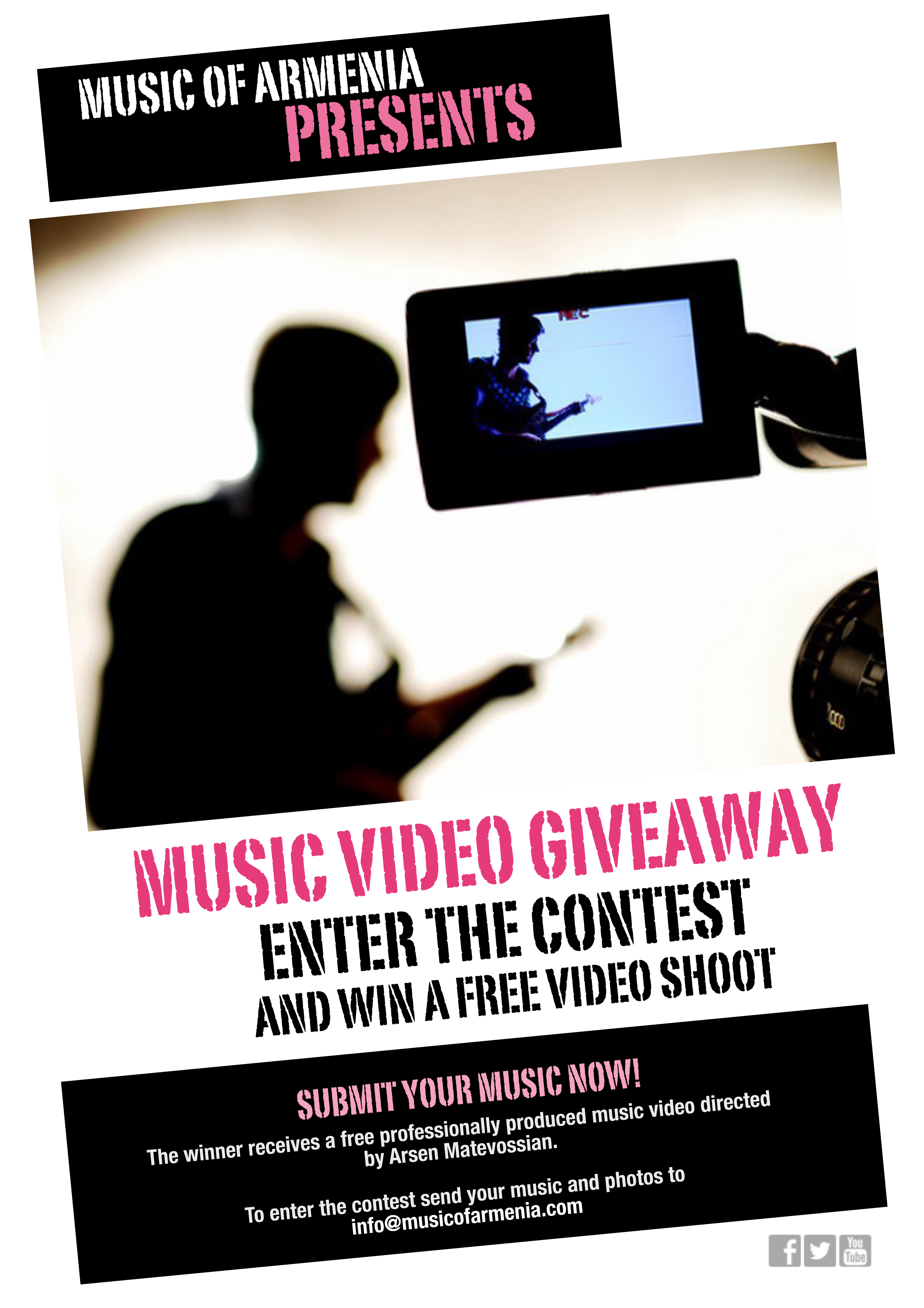 Music Video Giveaway by Music of Armenia