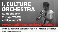I, CULTURE Orchestra Auditions 2014