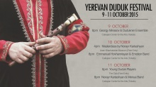 Yerevan Duduk Festival | © Music of Armenia